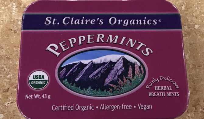 Organic St. Claire's Organic Mints
