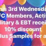3rd Wednesday Member Discount Day