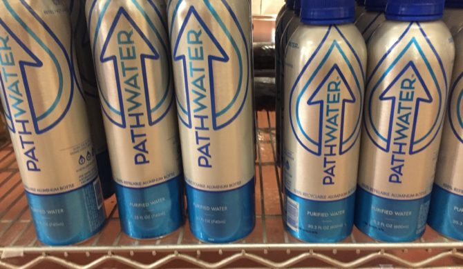 Pathwater in Reusable Bottles