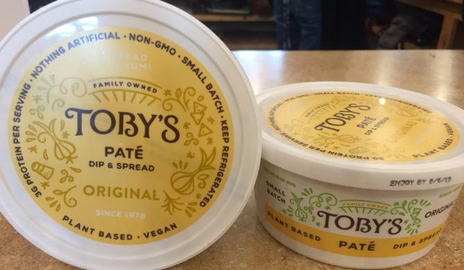 Plant based Toby's Pate
