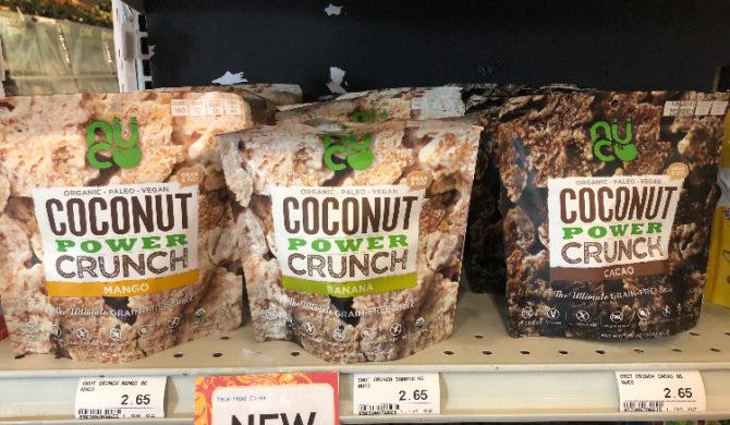 Coconut Power Crunch Snacks