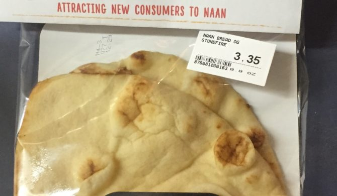 Organic Naan Bread