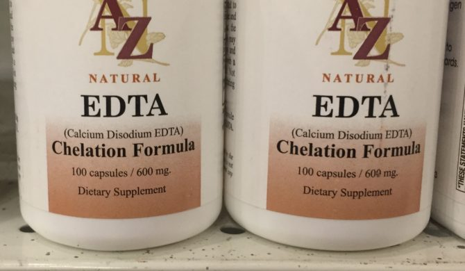 EDTA Back in Stock