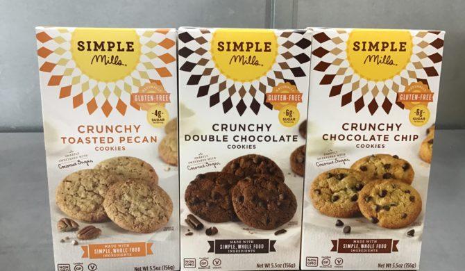 Simple Mills Crunchy Cookies